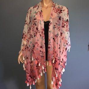 Lane Bryant Plus Kimono Top